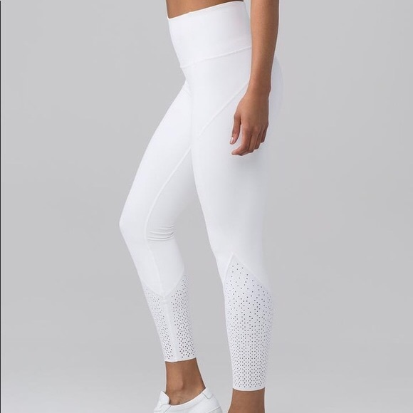 9a4fad8e77b lululemon athletica Pants | New Lululemon Anew Tights White 10 ...